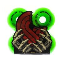Powell Peralta Skateboard Wheels Rat Bones Green 60mm 90a 2008 Reissue