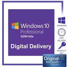 Windows 10 Professional 64bit license Key Instant Download