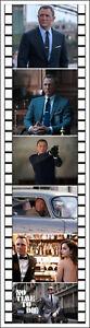 007 JAMES BOND MOVIES BOOKMARKS