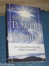 Spiritual Power for Your Family by Beverly LaHaye FREE SHIPPING 1591856566