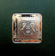 2009 POLAND 10 zlotych CZESLAW NIEMEN Silver proof coin  *E12283