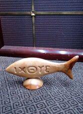 """Folk Art Hand Carved Myrtlewood 9.5"""" Ixoye Religious, Christian, Faith"""