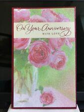 Beautiful Glittered Anniversary Card American Greetings