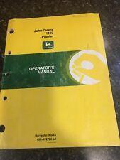 Original John Deere Tractor Model 1240 Planter Operator's Manual (older/vintage