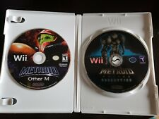 Metroid Prime 3: Corruption (Nintendo Wii, 2007) - with Other M