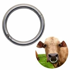 ✔ ✔ ✔ Bull,Boar,Cow Cattle Bovine Nose Ring,Stainless Steel Veterinary ✔ ✔ ✔