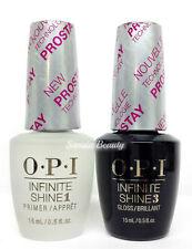Opi Infinite Shine Nail Lacquer Prostay - Prime Base + Gloss Top Coat Duo .5oz