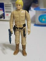 Vintage Star Wars Lili Ledy Bespin Luke Skywalker 1980 Raised LFL Hong kong gun