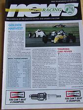BRITISH RACING CLUB MAGAZINE OCT 1994 GOLDEN HARVEST TOURING CAR FEVER RILEYS