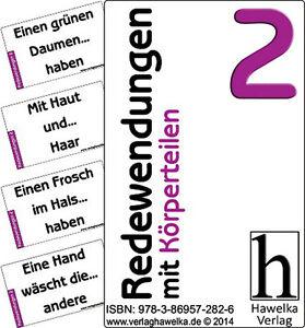 Redewendungen mit Körperteilen 2 (50 Aktivierungskarten) - für Altenpflege uvm.