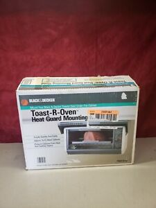 NEW! Black & Decker Under Cabinet Heat Guard Mounting Hood For Toast-R-Oven TMB3