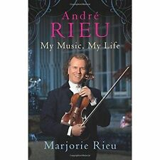 Andre Rieu My Music My Life,Marjorie Rieu,Excellent Book mon0000103219
