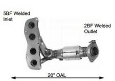 Exhaust Manifold with Integrated Catalytic Converter Front Right fits Sienna V6