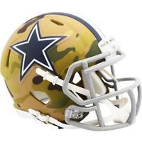 Dallas Cowboys Helmet Riddell Replica Mini Speed Style Camo Alternate