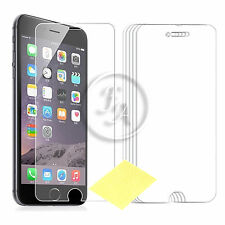 """10 BRAND NEW GENUINE CLEAR SCREEN PROTECTOR COVER FILM GUARD IPHONE 6 6S (4.7"""")"""