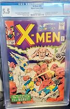 X-Men #15 - 2nd Sentinels - Master Mold! CGC 5.5 White Pgs! Awesome!!! Buy ME!!!