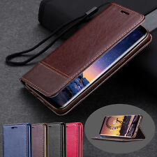 Book Case Cover Cell Phone Case Leather Flip Cover for Samsung Galaxy S9 Plus S8