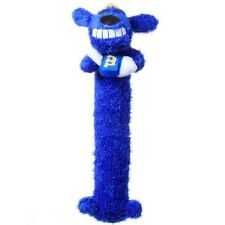 MULTIPET HANUKKAH LOOFA PLUSH DOG TOY WITH SQUEAKER. FREE SHIPPING IN THE USA