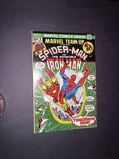 Marvel Team-Up 9 Raw 8.5 / 9.0 Bronze Age Key Marvel Comic Spidey! I.G.K.C. L@@K