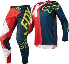 "Fox 360 Preme Navy Red Kids Motocross MX Offroad Kit Gear Kit Youth 24"" XLarge"