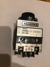 NEW AGASTAT 7022AD Timing Relay 120 V 5-50 Sec.  (See pics its New Folks!)