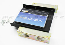 """2.5'' or 3.5'' SSD HDD to 5.25"""" PC CD Rom Slot Bay Adapter Bracket Dock + Screws"""