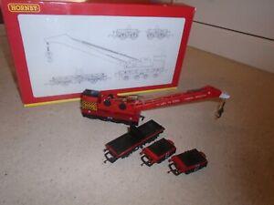 R6104 75 Ton Operating Breakdown Crane for Hornby OO Gauge Sets