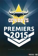 NRL: Premiers 2015 North Queensland Cowboys  - DVD - NEW Region 4