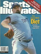 David Wells Sports Illustrated Magazine July 10, 2000 Toronto Blue Jays No Label
