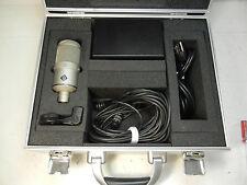 NEUMANN M147 VACUUM TUBE CONDENSER LARGE DIAPHRAGM CARDIOID MICROPHONE LQQK#2