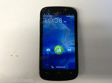 ZTE Warp Sequent - 4GB - Black (Boost Mobile) Smartphone Clean ESN AS IS Cracked