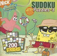 Sudoku Puzzles #3 (SpongeBob SquarePants)-ExLibrary