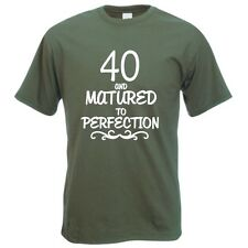 40 Celebración De Cumpleaños Regalo Camiseta Graciosa