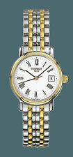 Tissot Polished Watches with 12-Hour Dial