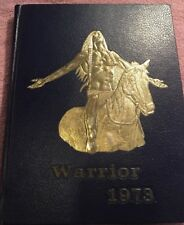 Granite City Illinois High School, Warrior. 1973 Yearbook Free Shipping