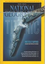 NATIONAL GEOGRAPHIC April  2012 ~ TITANIC What Really Happened ~ Includes poster