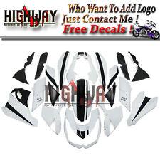 Fairings For Kawasaki Z1000 10-13 ABS Fairing Kit Bodywork Frames White Black 11