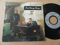"DISQUE 45T DE PET SHOP BOYS  "" IT'S A SIN """