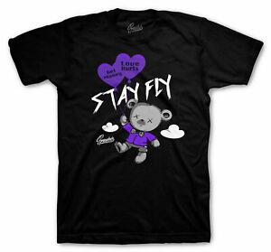 Shirt Match Jordan 1 OG Court Purple - Money Over Love Tee