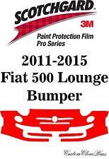 3M Scotchgard Paint Protection Film Pro Series Bumper 2011 2015 Fiat 500 Lounge