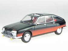 Citroen GS Basalte 1978 schwarz Deko rot Modellauto 181626 Norev 1:18