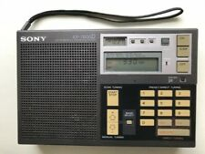 SONY FM/LW/MW/SW Receiver Model No. ICF-7600D, Good Condition.