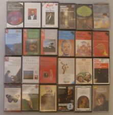 More details for 24 x classical cassette tapes - decca rca emi hmv - bulk job lot - used freepost