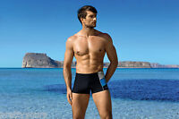 Men's Swimming Trunks Boxer Swim Shorts Swimwear Pants Size S M L XL XXL