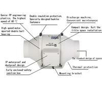 HON & GUAN 100mm INLINE FAN BATHROOM EXHAUST VENTILATION HYDROPONICS  2-SPEED