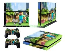Mine Video Game Vinyl Skin Sticker Decal Protector for Playstation 4 (PS4)
