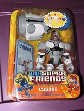 CYBORG DC Comics Imaginext Figure Teen Titans JLU Justice Super Friends HEROES