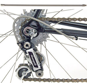 Replacement Spiral Wound Stainless Steel Derailleur Cable Kit Vintage Campagnolo