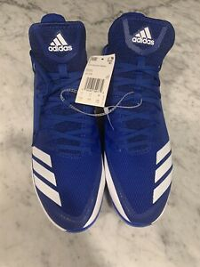 Adidas Icon Bounce Baseball/Softball Cleats Blue/Whir Men's Size US 11.5 NEW!