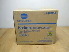 Konica Minolta Bizhub C3850/C3350 Yellow Toner A5X0230 TNP48Y - New Open Box